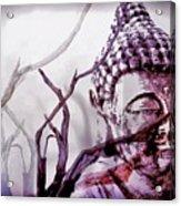 The Buddhist Sticks  Acrylic Print