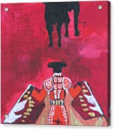 The Bull Fight  No.1 Acrylic Print