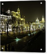 The Bund - Shanghai's Famous Waterfront Acrylic Print
