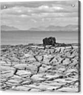 The Burren Landscape Ireland Acrylic Print