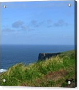 The Burren Pathway Along The Cliff's Of Moher Acrylic Print
