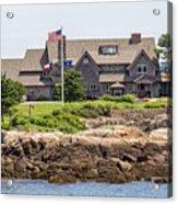 The Bush Compound Kennebunkport Maine Acrylic Print