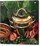 The Cabbage Pot Acrylic Print