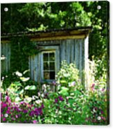 The Cabin Acrylic Print by Nick Diemel