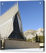 The Cadet Chapel At The U.s. Air Force Acrylic Print