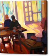 The Cafe Acrylic Print