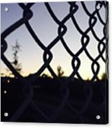 The Caged Morning  Acrylic Print