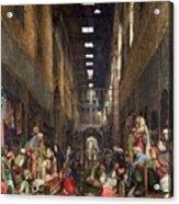 The Cairo Bazaar Acrylic Print