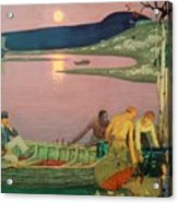 The Call Of The Sea Acrylic Print by Frederick Cayley Robinson