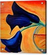 The Calla Lilies Acrylic Print