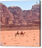 The Camel Riders Acrylic Print