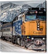 The Canadian - Via 6411 Acrylic Print