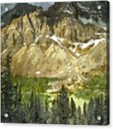 The Canadian Rockies Acrylic Print