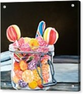 The Candy Jar Acrylic Print
