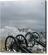 The Cannons At Shipka Acrylic Print
