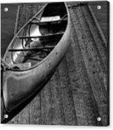 The Canoe Acrylic Print by David Patterson