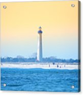 The Cape May Light House Acrylic Print