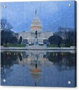 The Capital Acrylic Print
