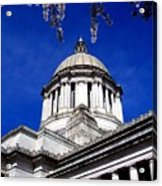 The Capital  Acrylic Print by Kevin D Davis