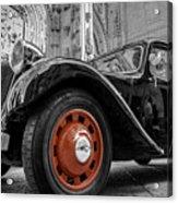 The Car Acrylic Print