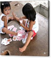 The Card Players 5 Acrylic Print