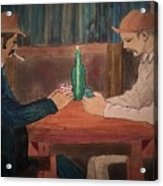 The Card Players Acrylic Print
