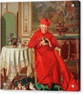 The Cardinal's Favourite Acrylic Print