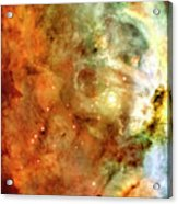 The Carina Nebula Panel Number One Out Of A Huge Three Panel Set Acrylic Print
