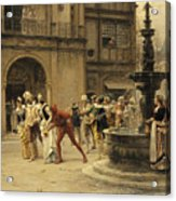 The Carnival Procession Acrylic Print