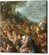 The Carrying Of The Cross Acrylic Print