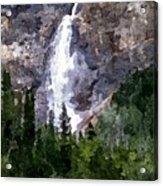 The Cascade Acrylic Print