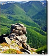 The Cascade Mountains Acrylic Print