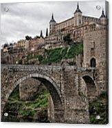 The Castle And The Bridge Acrylic Print