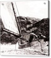 The Cat Boat, Edward Hopper Acrylic Print
