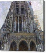 The Cathedral At Ulm Acrylic Print