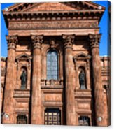 The Cathedral Basilica Of Saints Peter And Paul Acrylic Print