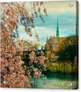 The Cathedral Basilica Of The Sacred Heart Acrylic Print