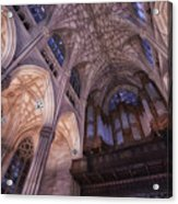 The Cathedral Of St. Patrick Acrylic Print