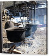The Cauldrons Acrylic Print