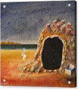 The Cave Of Orpheas Acrylic Print
