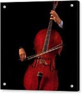 The Cellist Acrylic Print