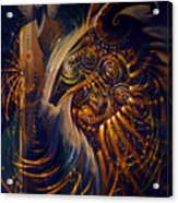 The Cernunnos Of Metatron Acrylic Print