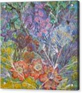 The Chakrah Garden Acrylic Print