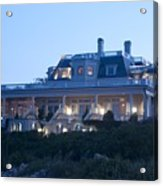 The Chanler At Cliff Walk Acrylic Print