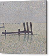 The Channel At Nieuport Acrylic Print