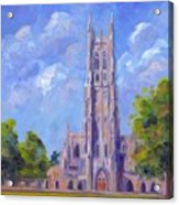 The Chapel At Duke University Acrylic Print