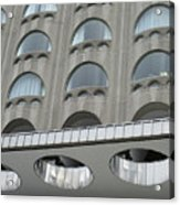 The Cheese Grater Detail Acrylic Print
