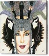 The Cher-est Painting Acrylic Print