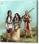 The Cherokee Years Acrylic Print by Brandy Woods