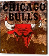 The Chicago Bulls R2 Acrylic Print